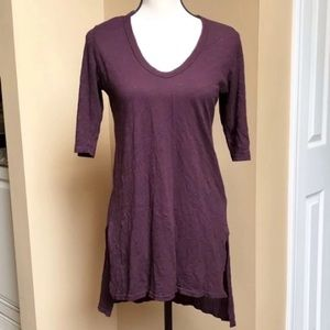 Anthropology Left of Center Dimanche Tunic Tee